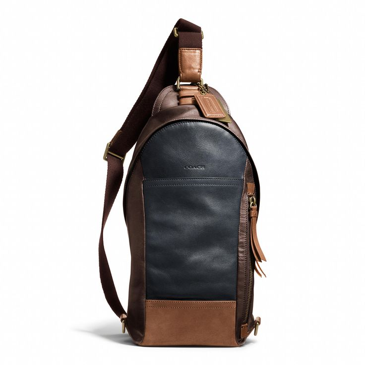 Coach :: BLEECKER CONVERTIBLE SLING PACK IN COLORBLOCK ...