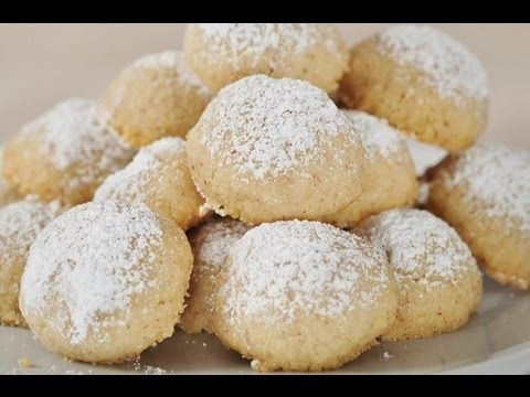 Mexican Wedding Cakes.  These are a staple of mine at Christmas time.  I use 2 cups of pecans, but otherwise it's the same recipe.
