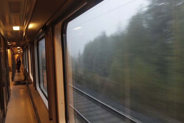 Martje: On the train