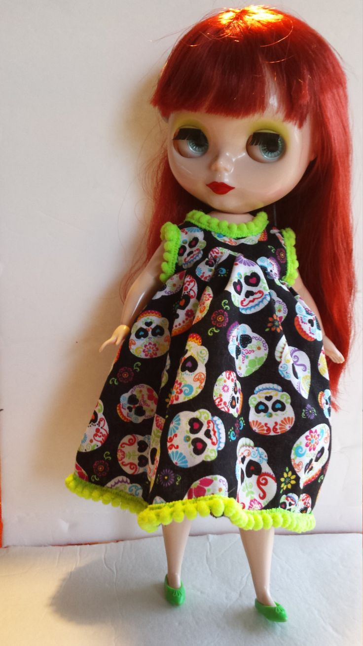 Day of The Dead - Sugar Skull Dress Plus Size Blythe - Mimi Body by TheBlackOnyxBoutique on Etsy