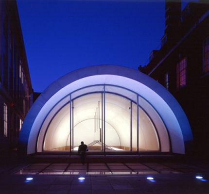Barrel vaulted roof - Royal Academy of Music