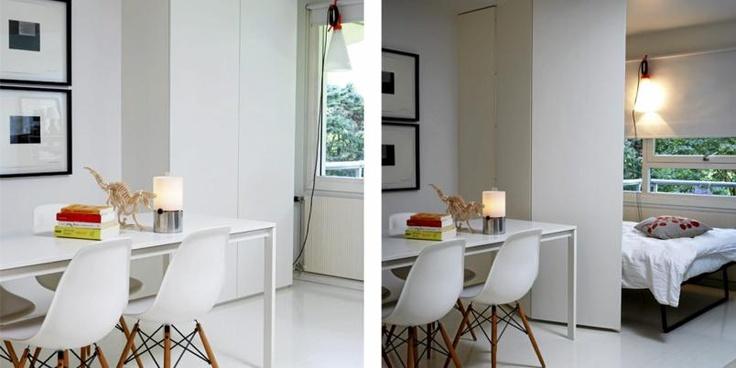 Innredning i liten leilighet   arkitektens smarte toroms ...
