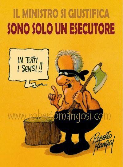 ITALIAN COMICS - Le fantasiose trovate del ministro Saccomanni