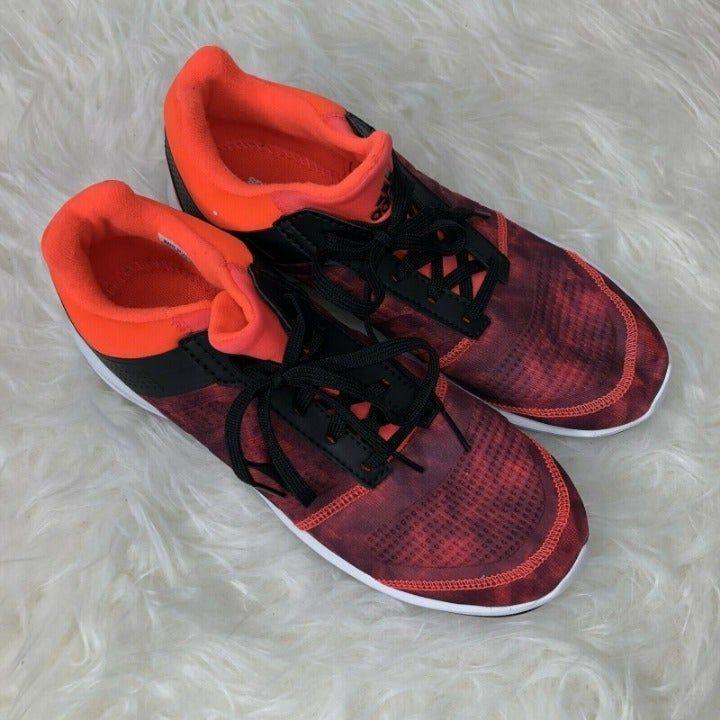 Adidas S-Flex Orange/Red Running Shoes Boy's Size 5 Brand new ...