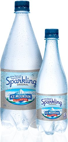 Products / Sparkling / Ice Mountain® 100% Natural Spring Water