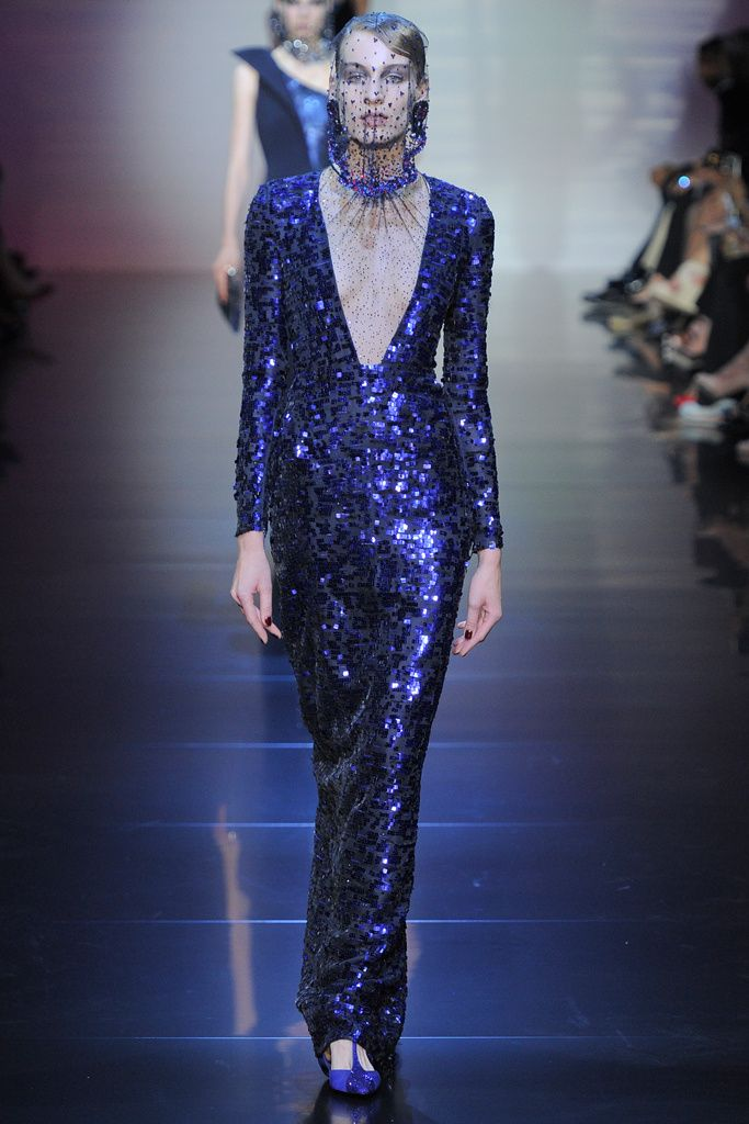 Giorgio Armani Prive - Runway Autumn/Winter 2oI2 (03-07-2012)