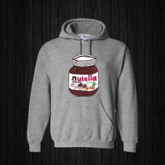 Nutella Hoodies Hoodie Sweatshirt Sweater Shirt by sijilbab13
