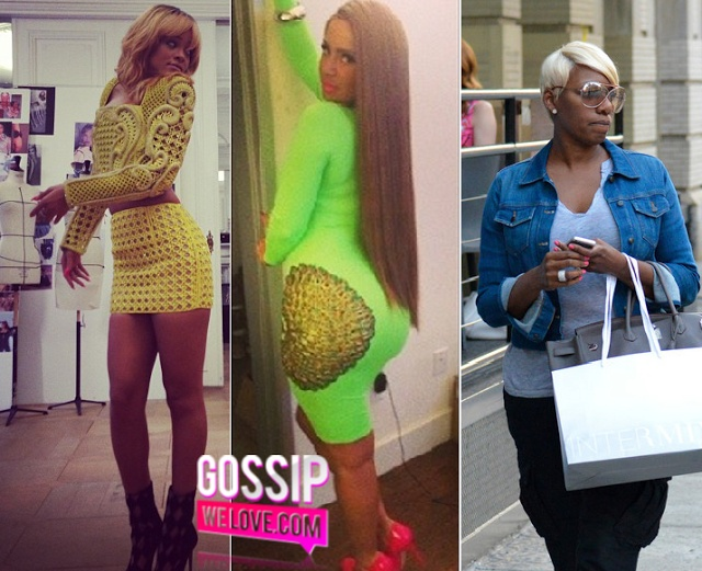 """SPOTTED: Rihanna Takes Over Paris, Amber Rose """"Long Hair Don't Care!"""" & Nene Leakes Taking A Stroll In NYC! ~ @Gossip We Love"""