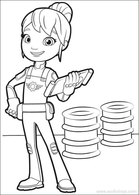 Blaze And The Monster Machines Coloring Pages Gabby Is A Mechanic Monster Truck Coloring Pages Truck Coloring Pages Nick Jr Coloring Pages