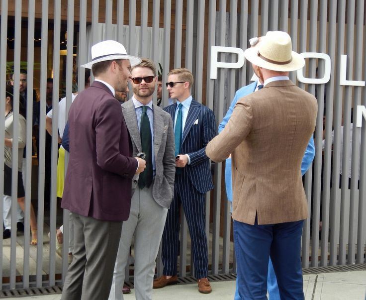 What is summer suiting without a great straw fedora? #pittiuomo #mensfashion #hats #summer