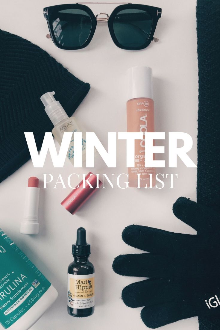 Winter Holiday Packing List #traveltips #packingtips #wintervacation #christmas #ski