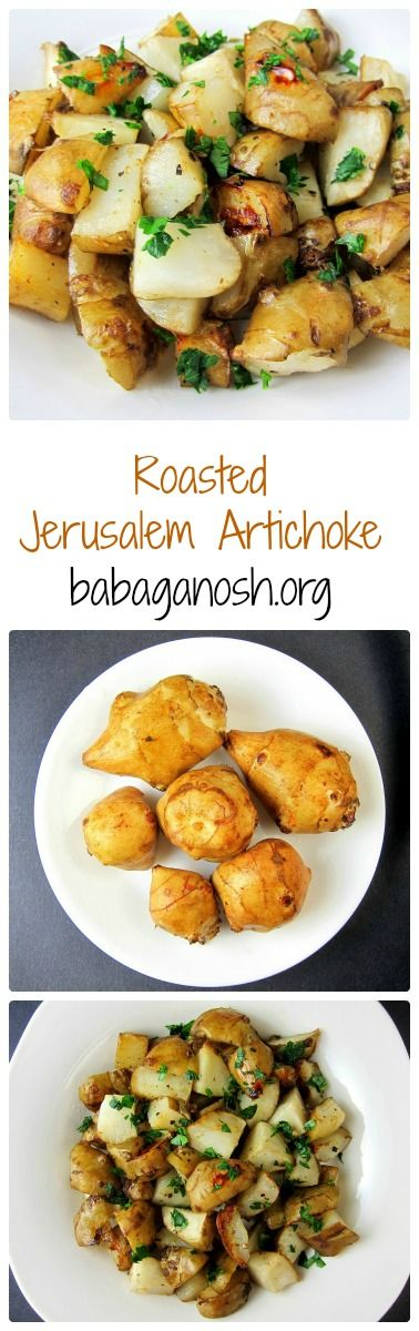 Delicious Jerusalem Artichoke - healthier and tastier than potatoes. Roasting Jerusalem artichokes brings out the amazing nutty flavor.