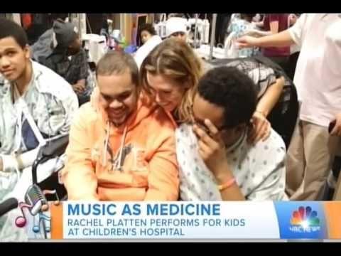 Music As Medicine: Rachel Platten Makes A Special Musicians On Call Visit