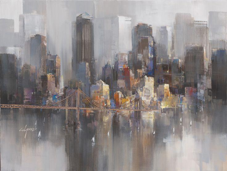 La Carpa — Abstract Cityscapes  by  Wilfred Lang