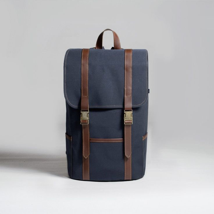 The Forge Backpack in navy by Mother Co. Made in Canada  - $149