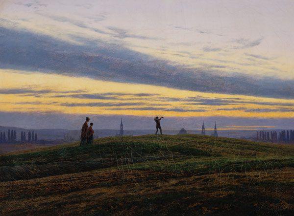 Caspar David Friedrich-Der Abendstern