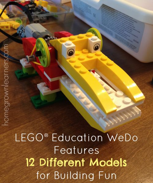 LEGO® Education WeDo Robotics in Your Homeschool - Home - Homegrown Learners