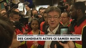 Un samedi de campagne pour les candidats à la présidentielle Macron à La Réunion, Fillon au Pays Basque, Hamon au Salon du Livre, Mélenchon au McDonald's... Pas de pause ce samedi pour les candidats à la pr�... http://feedproxy.google.com/~r/itele/laune/~3/bf7V6xCQ_D8/un-samedi-de-campagne-pour-les-candidats-a-la-presidentielle-173950