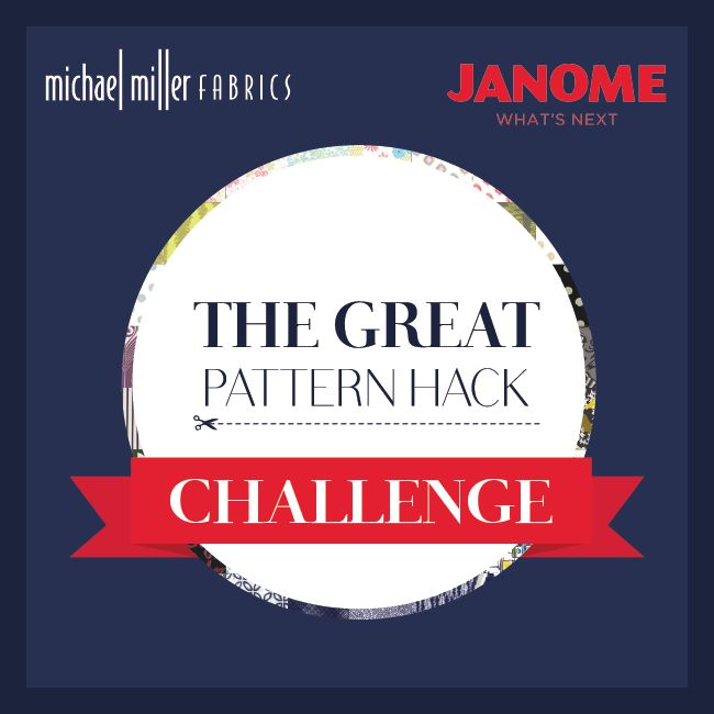 making it fun: The Great Pattern Hack Challenge and Giveaway!