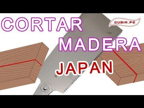 Curso carpinteria como cortar madera preciso Japon Ebanisteria Bricolaje…