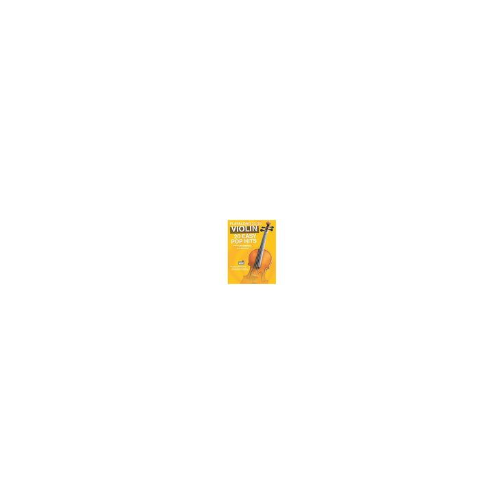 Playalong 20/20 Violin : 20 Easy Pop Hits (Paperback)