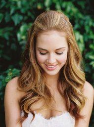 Beautiful long wedding hair