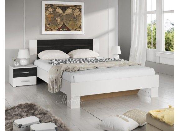 Tweepersoonsbed Victor is een houten bed uitgevoerd in een landelijke stijl. Dit bed is afgewerkt in wit met zwart. Inbegrepen in de getoonde prijs is een standaard lattenbodem en de twee bijpassende nachtkastjes. Een matras wordt niet bijgeleverd. Tweepersoonsbed Victor is onderdeel van een uitgebreid woonprogramma waarmee je een compleet nieuwe sfeer in huis kan creëren. https://www.meubella.nl/slaapkamer/bedden/tweepersoonsbedden/tweepersoonsbed-victor-wit-zwart-160x200-cm.html