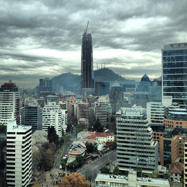 nice photo. Santiago, Chile