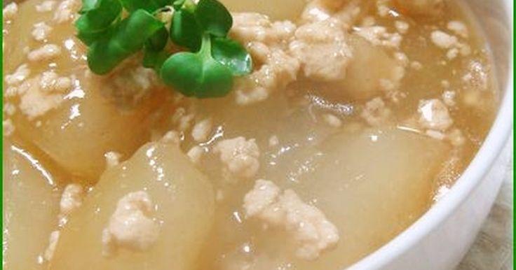 冬瓜の鶏そぼろ煮 by cafe-cafe [クックパッド] 簡単おいしいみんなのレシピが274万品