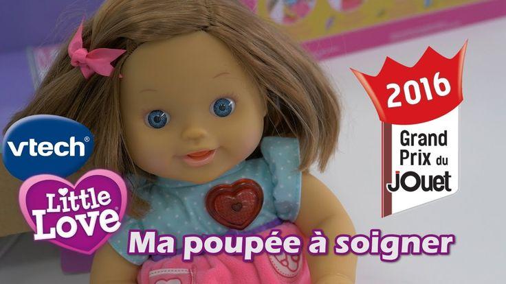 Vtech Little Love : Ma poupée à soigner - Démo en français du poupon int...