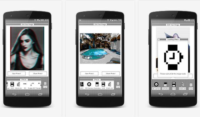 Glitchr es una nueva app que nos ofrece una selección de efectos retro o vintage para embellecer nuestras fotografías. Para Android 4.0.3 y posteriores.