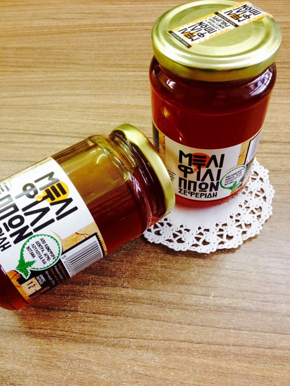 Greek raw honey from pines and flowers  950gr. real by Armenos