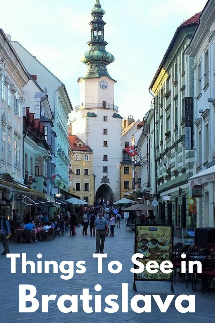 Things to see in Bratislava - An ideal European Weekend City Break