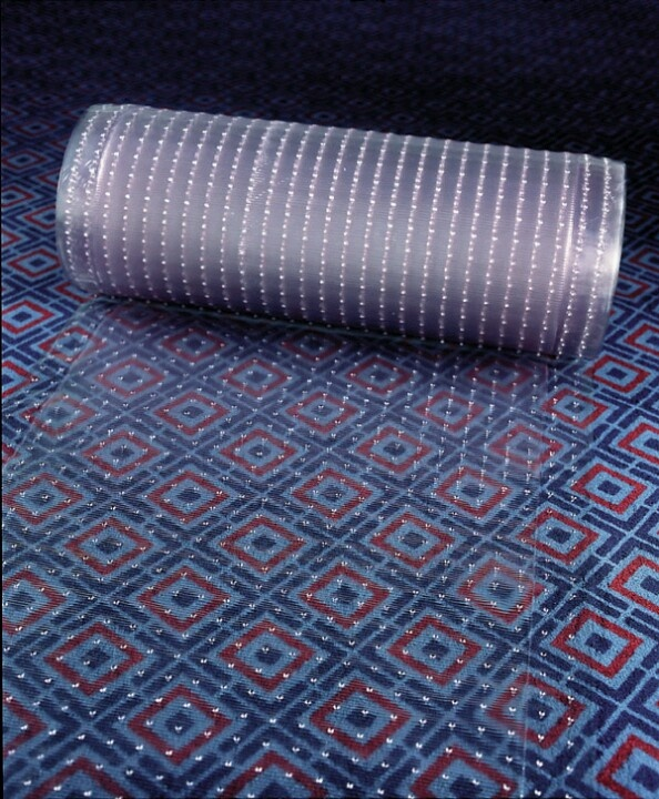 Keep Dogs Off The Furniture With Vinyl Carpet Protector. Itu0027s Poky On One  Side So