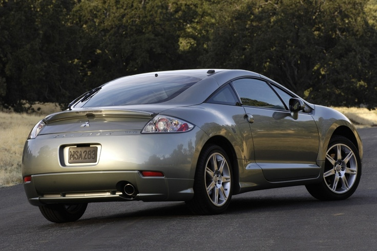Mitsubishi Eclipse 2008 - add a dash of blue and you've got the pearl!