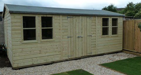 At Sheds direct we are passionate about our garden sheds. We manufacture in Yorkshire. #Call Kevin on 01405 765400 now!