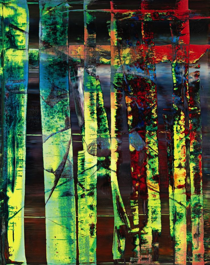 'Two Candles' Abstract Painting by Gerhad Richter '02 recently sold for 14.3 million dollars. #Painting #Two_Candles #Abstract_Painting #Gerhard_Richter