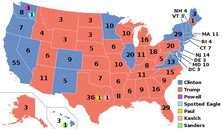 Élection présidentielle américaine de 2016 - Vikidia, l'encyclopédie des 8-13 ans