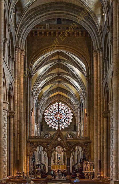 Durham Cathedral: Sublime Romanesque Architecture.