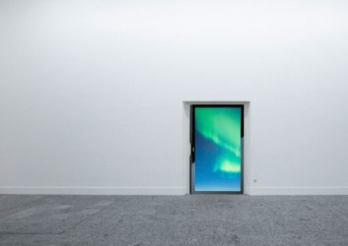 "(T.V Screen ""Project Installation""), 2014 Ibon Mainar"