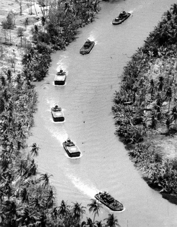 """vietnam war combat boat on patrol.  I would ask if the water is cold? And I would answer """"Who Cares"""""""