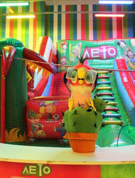 Попугай Кеша, театральная кукла на гапите. 3 механики.