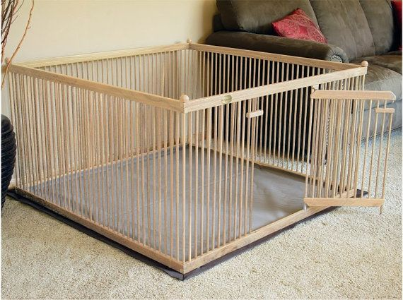 red oak large indoor dog kennel with durable waterproof snapon duallayer fabric floor mat
