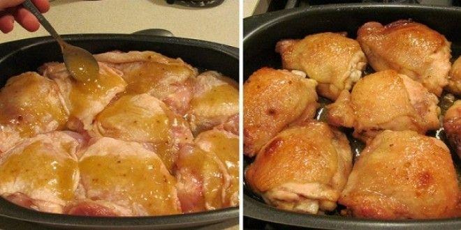 Курица в медовом соусе, такой вкусной курица еще не была! Именно легкая карамельная сладость дополняет нежность белого мяса, а чеснок и специи усиливают аппетитный аромат и остроту блюда
