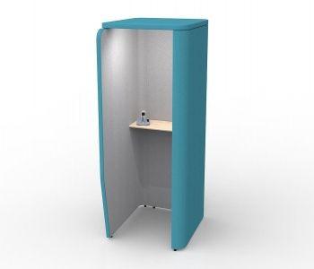 Telefon Görüşme Odası Kabincell #telefonodası #akustikoda #acoustic #panels #akustik #design