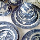 Found it at Wayfair - Willow Blue Dinnerware Collection