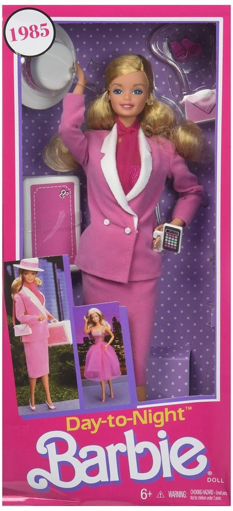 2018 1985 Barbie Day To Night Fashion Doll New