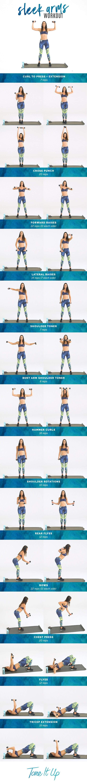 Get ready to FLEX, girl! Sleek Arm Workout on ToneItUp.com