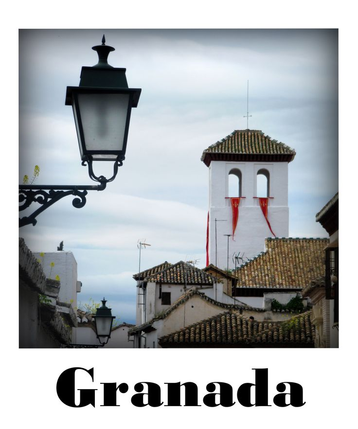 GRANADA  [from the SPAIN/ROAD-TRIP polaroid shots series]