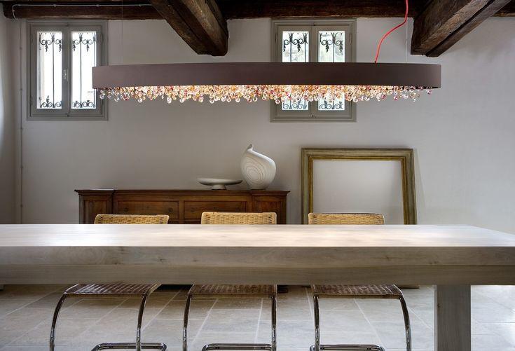 Olá Designerleuchte von Masiero #ola #masiero #esstischlampe #esstischleuchte #lights4life